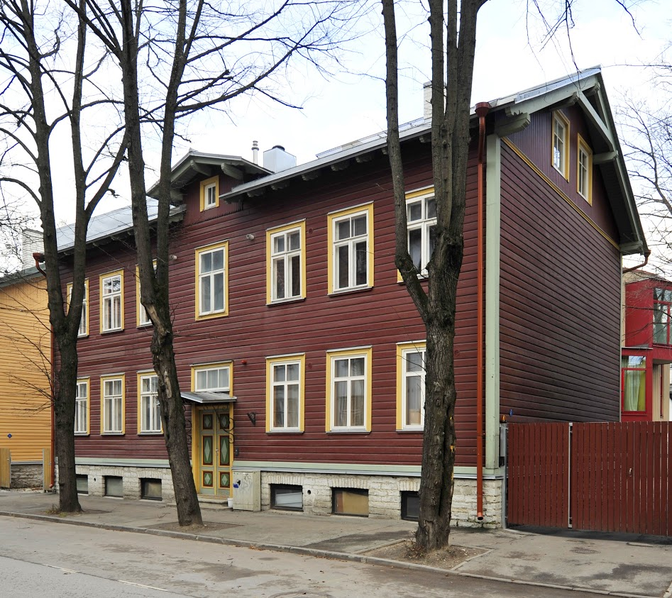 A historical home in environmentally valuable Kalamaja