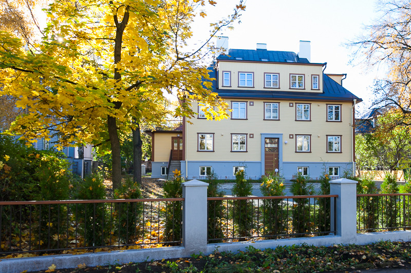 An exclusive home in Kadriorg
